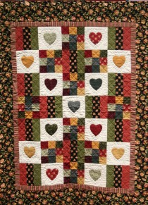 Flannel Heart Quilt (576x800) (2)